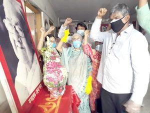 বিপ্লবী নারী নেত্রী কমরেড হেনা দাসের ১১তম মৃত্যুবার্ষিকীতে সিপিবি'র শ্রদ্ধা