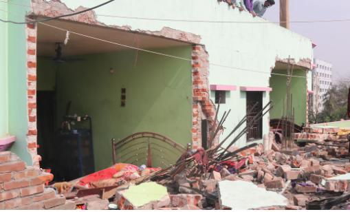 নারায়ণগঞ্জে ফ্ল্যাট বিস্ফোরণ: দগ্ধ অন্তত ১১ জন